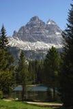 Montaña de la dolomía Foto de archivo