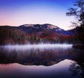 Montaña de la madrugada Imagenes de archivo