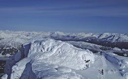 Montaña de la marmota Fotografía de archivo