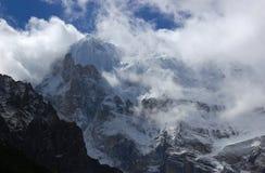 Montaña de la nieve Foto de archivo