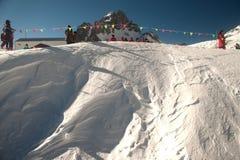 Montaña de la nieve de Jade Dragon en Lijiang en China. Fotos de archivo libres de regalías