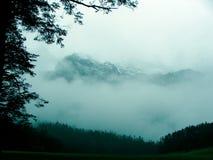 Montaña de la nieve del dragón del jade Imagen de archivo