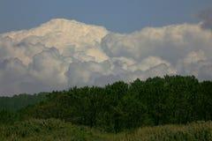 Montaña de la nube Fotos de archivo
