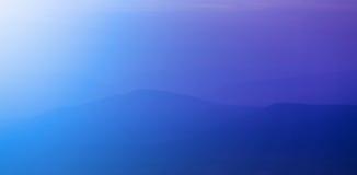 Montaña de la puesta del sol Imágenes de archivo libres de regalías