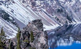 Montaña de la reflexión Fotografía de archivo