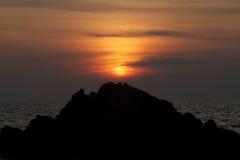 Montaña de la roca Fotos de archivo libres de regalías