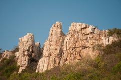Montaña de la roca Imagenes de archivo