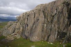 Montaña de la roca de fondo de Atoklinten Imagen de archivo