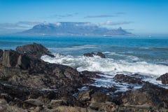 Montaña de la tabla, Cape Town, Suráfrica, África Imagenes de archivo