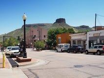 Montaña de la tabla cerca de Colorado de oro Fotos de archivo libres de regalías
