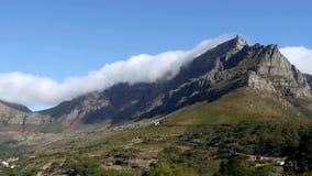 Montaña de la tabla, Ciudad del Cabo almacen de metraje de vídeo