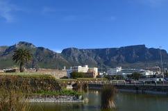 Montaña de la tabla del puerto Fotografía de archivo