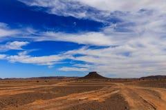 Montaña de la tabla, Marruecos Imagenes de archivo