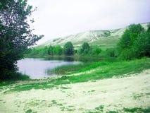 Montaña de la tiza Fotografía de archivo libre de regalías