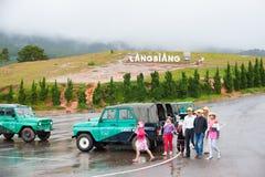 Montaña de Lang Biang, Dalat, Vietnam Imagen de archivo libre de regalías
