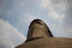 Montaña de Laoding - estatua del bronce de Yandi Imagen de archivo