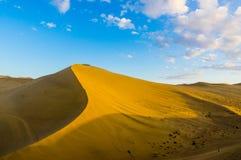 Montaña de las arenas del canto Imagen de archivo
