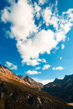 Montaña de las cascadas Imagen de archivo libre de regalías