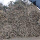 Montaña de las rocas del suelo fotos de archivo