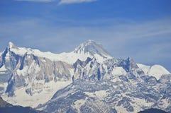 Montaña de Macchapucchre Imágenes de archivo libres de regalías