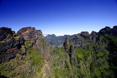 Montaña de Madeira, Pico de Ariero Imagen de archivo