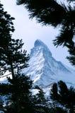 Montaña de Matterhorn foto de archivo libre de regalías