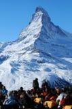 Montaña de Matterhorn imágenes de archivo libres de regalías