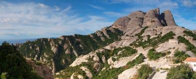Montaña de montserrat Fotografía de archivo