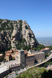 Montaña de Montserrat Imagen de archivo