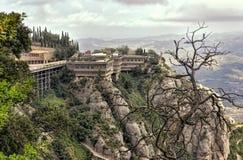 Montaña de Montserrat Fotos de archivo libres de regalías