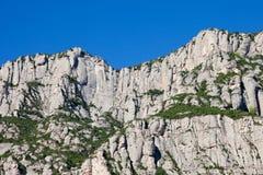 Montaña de Montserrat en España Imagen de archivo