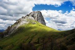 Montaña de Mugarra fotografía de archivo