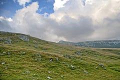 Montaña de Obarsia Fotos de archivo