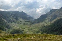 Montaña de Obarsia Imagenes de archivo