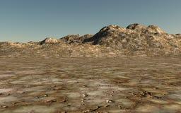 Montaña de oro Fotos de archivo