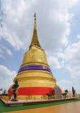 Montaña de oro de Wat Saket Temple Imágenes de archivo libres de regalías