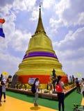 Montaña de oro de Wat Saket Temple Fotografía de archivo libre de regalías
