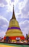 Montaña de oro de Wat Saket Temple Imagenes de archivo