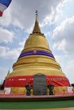 Montaña de oro de Wat Saket Temple Foto de archivo libre de regalías