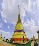 Montaña de oro de Wat Saket Temple Fotografía de archivo