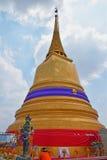 Montaña de oro de Wat Saket Temple Fotos de archivo