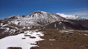 Montaña de Picavilque - Chile Foto de archivo libre de regalías
