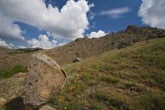 Montaña de piedra Fotos de archivo