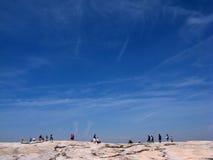 Montaña de piedra fotografía de archivo