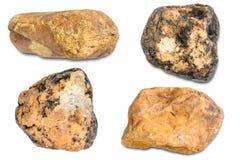 montaña de piedra de la roca aislada Imagenes de archivo