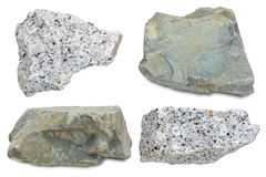 montaña de piedra de la roca aislada Foto de archivo libre de regalías