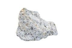 montaña de piedra de la roca aislada Imágenes de archivo libres de regalías