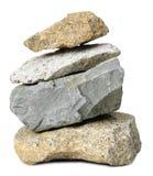 montaña de piedra de la roca aislada Fotos de archivo