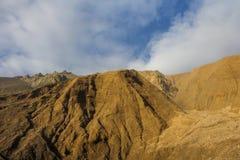 Montaña de piedra de la lava Fotografía de archivo libre de regalías
