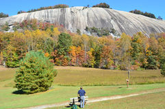 Montaña de piedra NC fotos de archivo